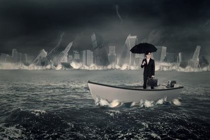 boat-with-umbrella